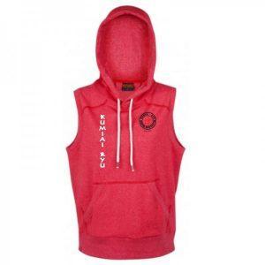 krmas-sleeveless-hoodie-red-front-600x600