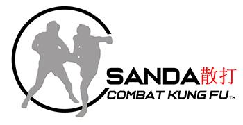sanda combat kungfu logo