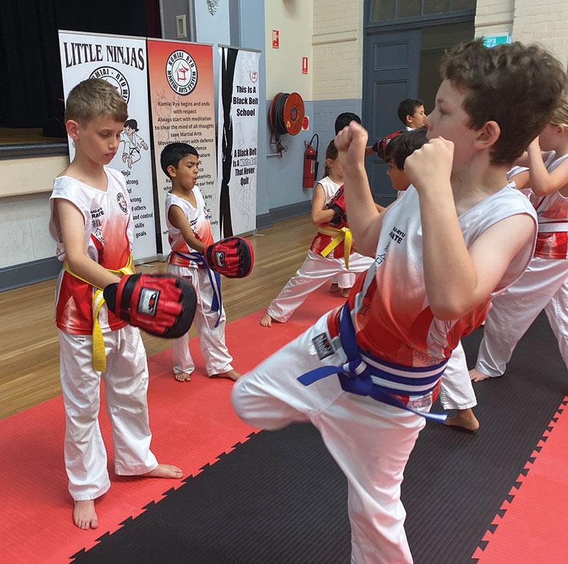 Beecroft Get Started Kids-Adults - image kids-kicking on https://www.krmas.com.au
